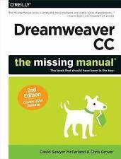 DREAMWEAVER CC [9781491947 - DAVID SAWYER MCFARLAND CHRIS GROVER (PAPERBACK) NEW
