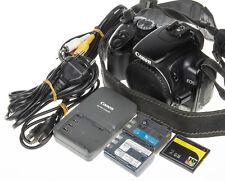Canon EOS 400D / Digital Rebel XTi DSLR +2Gb CF +2 pcs batteries +USB cable