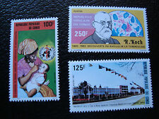 CONGO brazzaville - timbre yvert et tellier n° 677 678 682 n** (A9) stamp