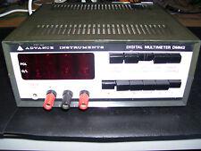 RARE anticipo strumenti NIXIE TUBO DIGITAL MULTIMETER dmm2 (in buonissima condizione)