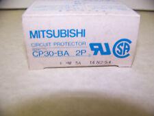 Mitsubishi CP30-BA  2Pole 5 Amp  Circuit Breaker