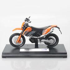 Ktm 690 Enduro Dual Sport Off-road Motorcycle 1:18 Diecast Model Hobby Bike