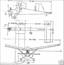 Model airplane Over 300 aircraft plans rc gas free flight ducted fan jet Library