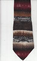 Hubert-[Milano]-Authentic-100% Silk Tie-Made In Italy-H10-Men's Tie