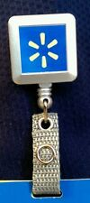 New Retractable Badge Holder w/Walmart Spark Logo