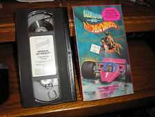 1991 Heroes on Hot Wheel VHS Lakeside Rally The Spy Cartoon Video Tape