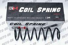 2 REAR COIL SPRINGS FOR VW GOLF IV