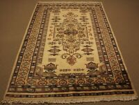 Oriental Persian Design Hand Knotted Wool Rug Carpet, Room Floor Decor Area Afgh