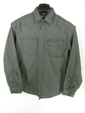 Eddie Bauer Classic Fit Men's Shirt Size S Gray Button Up LS Button Pockets