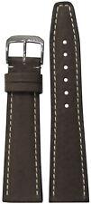 18mm RIOS1931 for Panatime Mocha Havana Genuine Pigskin Leather Watch Band 114/8