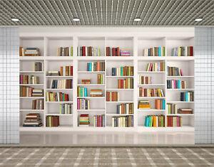 Bookshelf Bookcase Library Books Backdrop Conference Photography Background