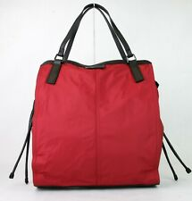 Burberry Military Red Nylon Packable Small Buckleleigh Tote Bag 3515997