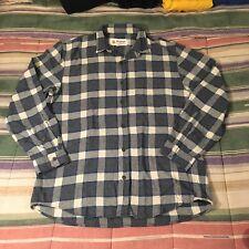 MOLLUSK california Plaid Flannel Shirt XL