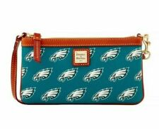 Dooney & Bourke NFL Philadelphia Eagles Large Wristlet Wallet Clutch