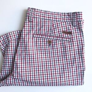 Ben Sherman Shorts, Picadilly Check, Size 32, 9-inch Inseam, VGC