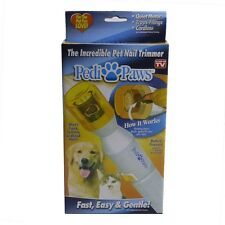 Electric PEDI PAWS CAT& DOG NAIL TRIMMER CLIPPERS FILE GROOMING Scissors AU-STOC