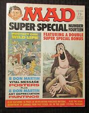 1974 MAD Magazine Super Special #14 GD+ 2.5 w/ Posters & Paintings