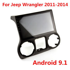 "10.2"" Android 9.1 Radio Stereo GPS Navigation 16GB For Jeep Wrangler 2011-2014"