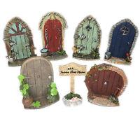 Miniature Hobbit, Pixie, Elf, Fairy Door,Tree Garden Home Decor, Fun Quirky Gift