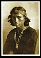⫸ 981 Postcard, Navajo Boy, 'Bi-yazh'  – Photo by Karl Moon 1905 – NEW