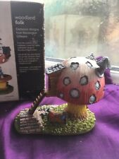 Kensington Giftware Woodland Folk Fairy House Resin Figurine