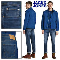 MENS JEANS LIGHT BLUE STRETCH 36 L32 L34 JACK /& JONES MIKE 452 NEW COMFORT MAN