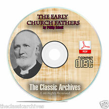 The Early Church Fathers, by Philip Schaff, 38 Volume Bible Study on CD-ROM F03