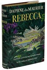 Rebecca ~ DAPHNE DU MAURIER ~ First American Edition ~ 1st Printing 1938 ~ DJ