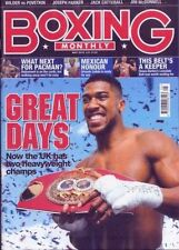 Boxing Monthly August Magazines in English