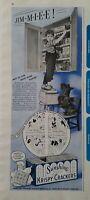 1940 Sunshine Krispy crackers Scottish Terrier Scottie dog boy cabinets ad