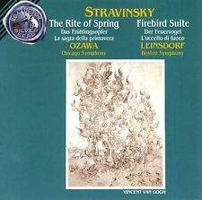 Stravinsky: The Rite of Spring / Firebird Suite - Audio CD