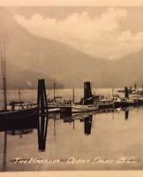Postcard, Ocean Falls The Harbour B.C. Canada, Vintage, P36