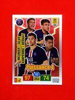 Carte Panini ADRENALYN XL Ligue 1 2019 - 2020 PUISSANCE 4 PSG Paris