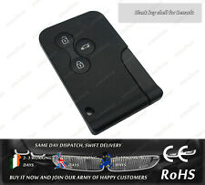 3 Button Remote Key Fob Card Replacement Case Shell For Renault Megane Scenic