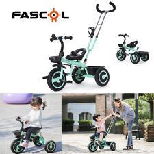 2 in 1 Kinderdreirad Dreirad ab 18 Monate bis 5 Jahre Baby Kinderwagen bis 30 kg