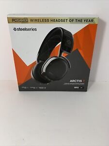 SteelSeries Arctis 7 Black Wireless Headsets for PC and PlayStation 4
