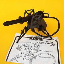 Vintage Star Wars Tripod Laser Cannon Minirig Complete W/ Parts & Instructions