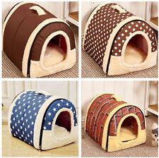 New Large Size Luxury Pet Igloo Dog Cat Soft Comfy House Bed Igloo Warm
