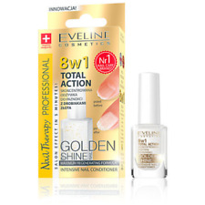 EVELINE 8in1 TOTAL ACTION INTENSIVE NAIL CONDITIONER WITH GOLD PARTICLES - 12ml