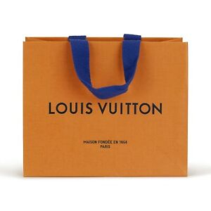 BRAND NEW MINT CONDITION Authentic Louis Vuitton Small/Medium Shopping Gift Bags