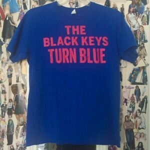 The Black Keys Shirt. Blue. New in Package. L. Large