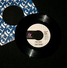 "JAMES BROWN ""RAPP PAYBACK (Pt. 1) / (Pt. 2)"" T.K. 1039 (1980) 45 rpm SINGLE"