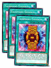 Set 3 Carte : TALISMANO GOGOGO Talisman SECE-IT098 Comune in Italiano YUGIOH