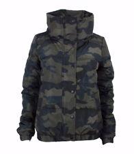 Tom Tailor Damen STEPPJACKE MIT STEHKRAGEN Winterjacke Größe XS Camouflage
