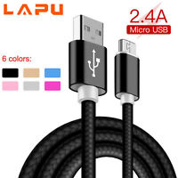 LAPU Ultra Strong Fast Charge Heavy Duty Micro USB Charger Charging Power Cable