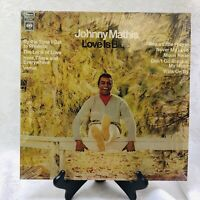 Johnny Mathis Love Is Blue Columbia Records CS-9637 Lp Vinyl Album By The Time I