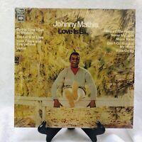 Johnny Mathis Love Is Blue Columbia Records CS-9637 Lp Vinyl Album