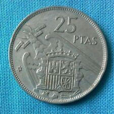 Spanien 25 Pesetas 1957 Franco