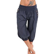 ba3948b7f0c7 Pantalones de mujer grandes azules | Compra online en eBay