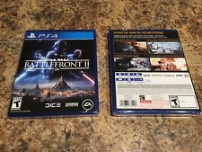Star Wars Battlefront II 2 PlayStation 4 PS4 Brand New Sealed Free Fast Shipping